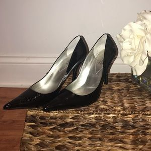 Guess by Marciano Pointed Patent Leather Pumps
